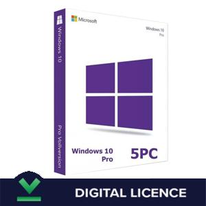 WINDOWS 10 PRO 5-PC